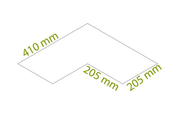 Wing - Scatole da 4,15 mq x colore, tot = 38 pz (17 in senso di trama + 21 in senso d'ordito)
