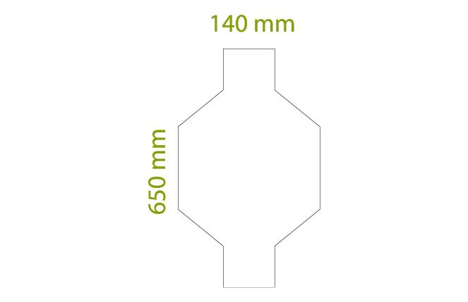 Deco - Scatole da 3,40 mq x colore, tot = 20 pz (10 in senso di trama + 10 in senso d'ordito)