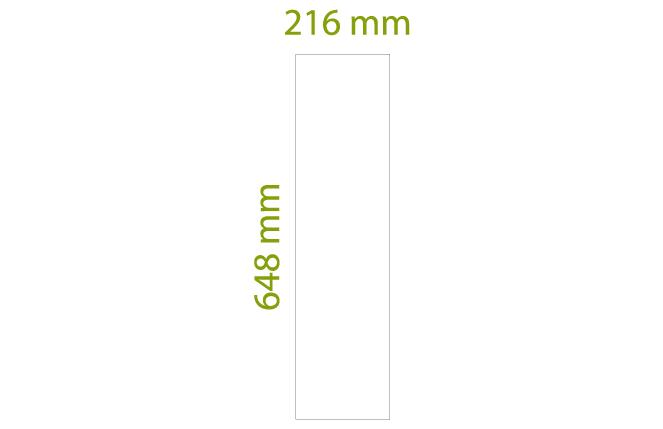Rettangolo - Scatole da 5,46 mq x colore, tot = 39 pz (18 in senso di trama + 21 in senso d'ordito)